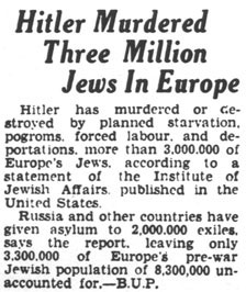 the holocaust in the world war 2 and the premise of the final solution by adolph hitler The holocaust was a very dramatic and major event during world war 2 the holocaust was one of the most tragic events in history, in which millions of innocent people died.
